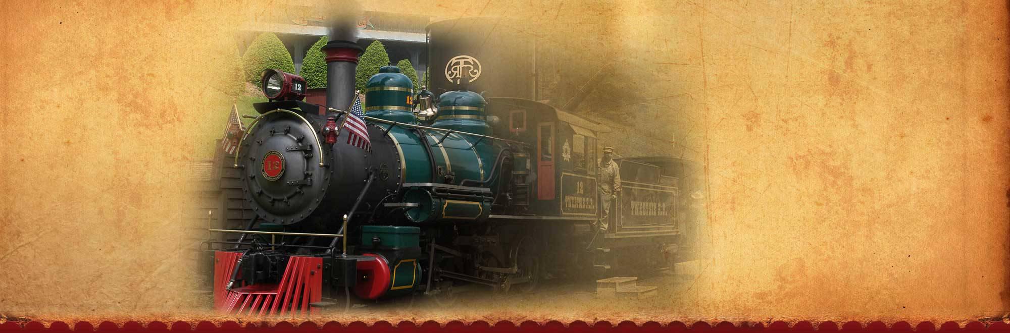Wild West Theme Park Advenure Slide Background